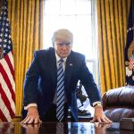U.S. Military Holding White House for Trump's Return