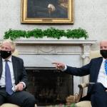 Biden Body Double Blows Cover During Meet with Boris Johnson